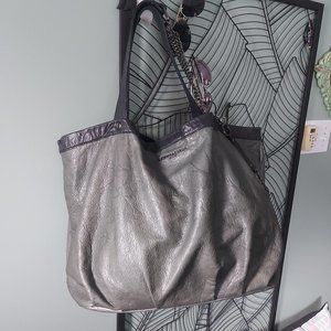Leigh & Luca   Embossed Leather Tote ∼ Limited Ed.